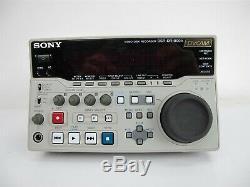 Sony Dsr-dr1000-a Enregistreur Numérique Sur Disque Dur Dvcam Hdd Low Hours
