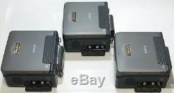 Sony Dsr-v10 / Lot De 3 / Minidv / Enregistreur Numérique À Cassette / Dsrv10 / Walkman / Magnétoscope