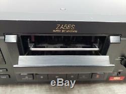 Sony Dtc-za5es Audio Numérique De Bande Dat Lecteur / Enregistreur Works / Testée Voir Video