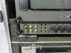 Sony Dv-cam Dsr-20p Digital Video Recorder Cassette Mini DV Cam + Moniteur & Case