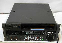Sony Dvw-2000 Digital Betacam Magnétoscope # 3