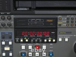 Sony Dvw-500p Enregistreur Vidéocassette Digital Betacam