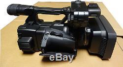 Sony Fdr-ax1 Caméra Vidéo Numérique 4k Enregistreur USA Heures De Vente Au Détail Compteur 9 Heures