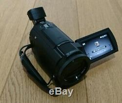 Sony Fdr-ax33 Numérique 4k Caméscope Handycam Capteur Cmos 20,6 Megapix