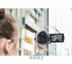 Sony Fdr-ax43 4k Ultra Hd Caméscope Numérique Caméscope Noir Currys