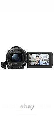 Sony Fdr-ax43 4k Ultra Hd Digital Video Camera Recorder Camcorder Noir