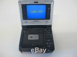Sony Gv-d1000 Minidv DV Digital Video Recorder Cassette Ntsc