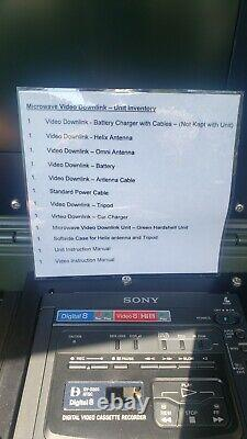 Sony Gv-d200 Digital8 Hi8 Video8 Digital 8 Player Recorder Gvd200 Navtech System