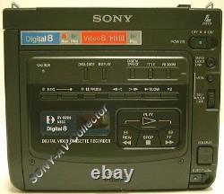 Sony Gv-d200 Digital8 Hi8 Video8 Enregistreur De Lecteur Numérique 8 Vcr Deck Gvd200 Ex