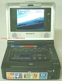 Sony Gv-d800 Digital8 Hi8 8mm Lecteur Enregistreur Vidéo Walkman Magnétoscope Deck Ex