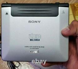 Sony Gv-d800 Digital8 Ntsc Hi8 8mm Vidéo Walkman Mint Condition