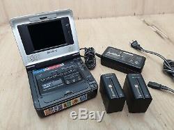 Sony Gv-d800 Hi8 8 MM Digital 8 Vidéo 8 Walkman Magnétoscope Enregistreur Portable Lecteur De