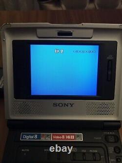 Sony Gv-d800 Video Walkman Digital 8 Hi8 Video 8 Player/recorder, Pal System