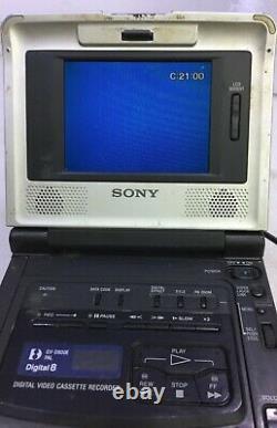 Sony Gv-d800e Pal Digital8 Hi8 8mm Video8 Player Recorder Video Walkman Vcr Déc
