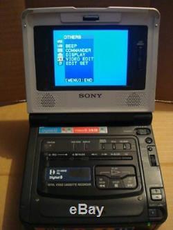 Sony Gv-d800e Pal Numérique Walk8 Magnétoscope Enregistreur Video8 Hi8 8mm Vidéo Walkman