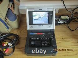 Sony Gv-d800e Video Walkman 8mm Enregistreur De Cassette Vidéo Numérique