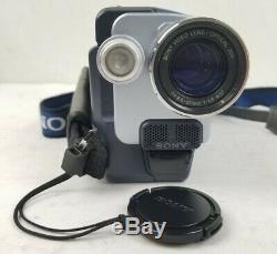 Sony Handycam Caméra Vidéo Enregistreur Numérique Digital8 Digital8 Dcr-trv250