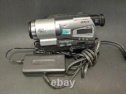 Sony Handycam Ccd-tr818 Enregistreur Caméra Vidéo Hi8 460x Digital Zoom Nightshot