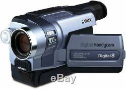 Sony Handycam Dcr-trv250e Pal Digital8 Video Camera Recorder
