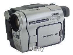 Sony Handycam Dcr-trv255e Digital8 Caméscope Recorder Caméra Vidéo Numérique