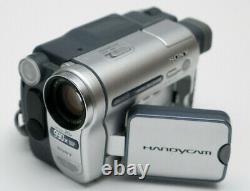Sony Handycam Dcr-trv255e Numérique8 Caméscope Numérique Enregistreur # 572