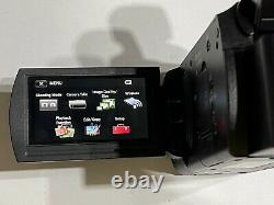 Sony Handycam Fdr-ax33 Enregistreur De Caméra Vidéo Numérique 4k Demo Unit Pls Lire