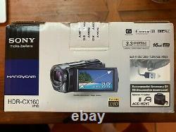 Sony Handycam Hdr-cx160 Enregistreur Vidéo Hd Numérique 42x Zoom Étendu