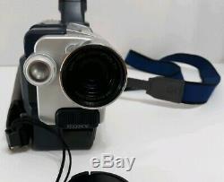 Sony Handycam Hi 8 Ccd-trv118 Enregistreur Vidéo Portable 560x Zoom Numérique Sac Bande