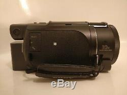Sony Handycam Numérique 4k Recorder Caméra Vidéo Fdr-ax53