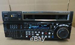 Sony Hdw-m2000p Lecteur De Cassettes Vidéo Betacam Hdcam Studio Vtr