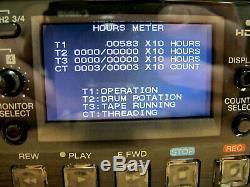 Sony Hvr-1500 Enregistreur Vidéo Hd Numérique Avec Hd-sdi Outut Option Heures Bas