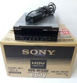 Sony Hvr-m15au Enregistreur Vidéo Numérique Enregistreur Vidéo Numérique Hdv Ntsc / Pal 13x10