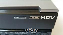 Sony Hvr-m15au Ntsc / Pal Hdv 1080i Dvcam DV Enregistreur Vidéo Numérique 20x10 Heures De Batterie