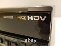 Sony Hvr-m15au Ntsc/pal 1080i Hdv Dvcam DV Digital Video Player Enregistreur