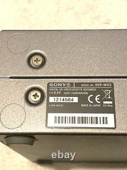 Sony Hvr-m15e 1080i Hdv Dvcam DV Lecteur Vidéo Numérique /enregistreur +adaptateur De Puissance Ac
