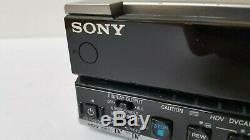 Sony Hvr-m15u Hdv Dvcam DV Lecteur Vidéo Enregistreur Numérique 25x10 Drum Hrs 1394