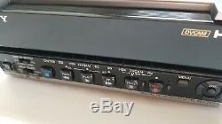 Sony Hvr-m15u Ntsc / Pal Hdv 1080i Dvcam DV Enregistreur Vidéo Numérique 21x10 Heures De Batterie