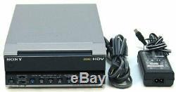 Sony Hvr-m15u Ntsc / Pal Hdv 1080i Dvcam DV Lecteur Vidéo Enregistreur Numérique Magnétoscope Ex