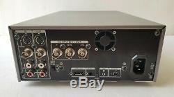 Sony Hvr-m25u Video Cassette Recorder Hd Numérique Hdmi 0x10 Drum Heures