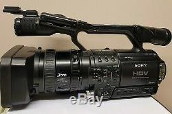 Sony Hvr-z1e Caméscope Numérique Hd Video Camera Recorder Noir