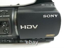 Sony Hvr-z5u Digital Hdv Video Camera Recorder Mini DV 20x Lire Erreur 32 60