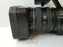 Sony Hvr-z5u Digital Hdv Video Camera Recorder Mini DV 20x Zoom Optique