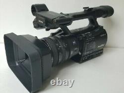Sony Hvr-z7u Hdv Numérique Hd Professionnel Caméra Vidéo Enregistreur 2x10 Drum Hrs