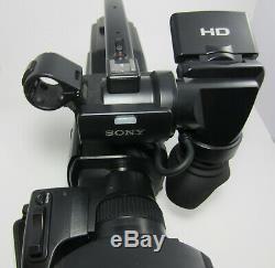 Sony Hxr-mc2000u 'épaule Caméscope Avchd Recorder Caméra Vidéo Numérique Hd
