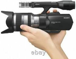 Sony Lens Interchangeable Digital Hd Caméra Vidéo Enregistreur Vg10 Nex-vg10/b Ermi