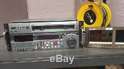 Sony Msw-m2000p Enregistreur Multi-format Numérique Mpeg IMX Cassette Vidéo Betacam