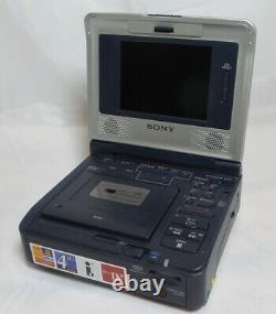 Sony Ntsc Portable Numérique Minidv Walkman Transfert Vidéo Condition Équitable Gv-d1000