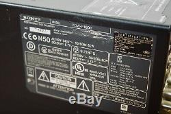 Sony Pdw-f1600 Enregistreur Vidéo Numérique Xdcam Hd Lecteur En Excellent État