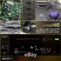 Sony Video8 Recorder Ev-s550e Numérique Pcm-stéréo Mit 1 Jahr Gewährleistung