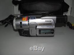 Sony Video Digital 8 Enregistreur Numérique Handycam Dcr-trv110e Bon Fonctionnement